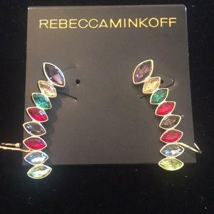 Rebecca Minkoff multicolor Pierced earrings
